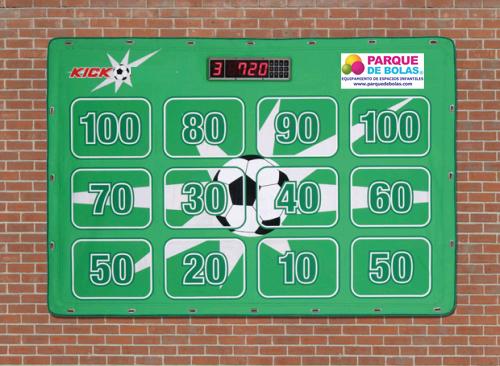 Futbol marcador para pared